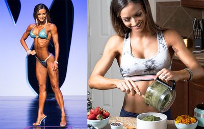 'I'm A Vegan Bodybuilder—Here's What I Eat In A Day'  https://www.womenshealthmag.com/food/vegan-bodybuilder-diet?utm_source=facebook.com