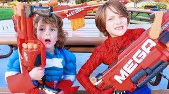 Captain America Vs Joker Vs Spiderman Vs Superman | Real Life Superhero Movie - YouTube