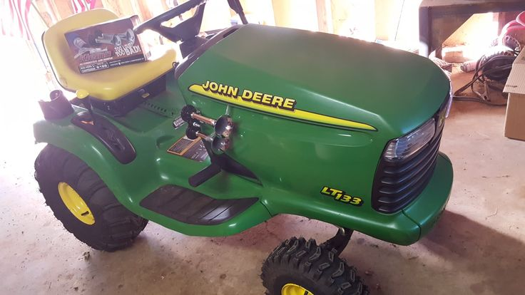 Train horn on my john deere tractor