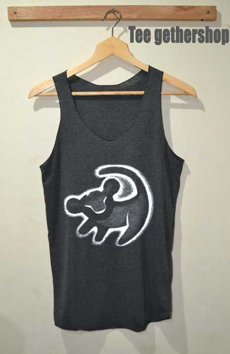 Lion Simba Shirt The Lion King Shirts Tank Top by Teegethershop, $15.99