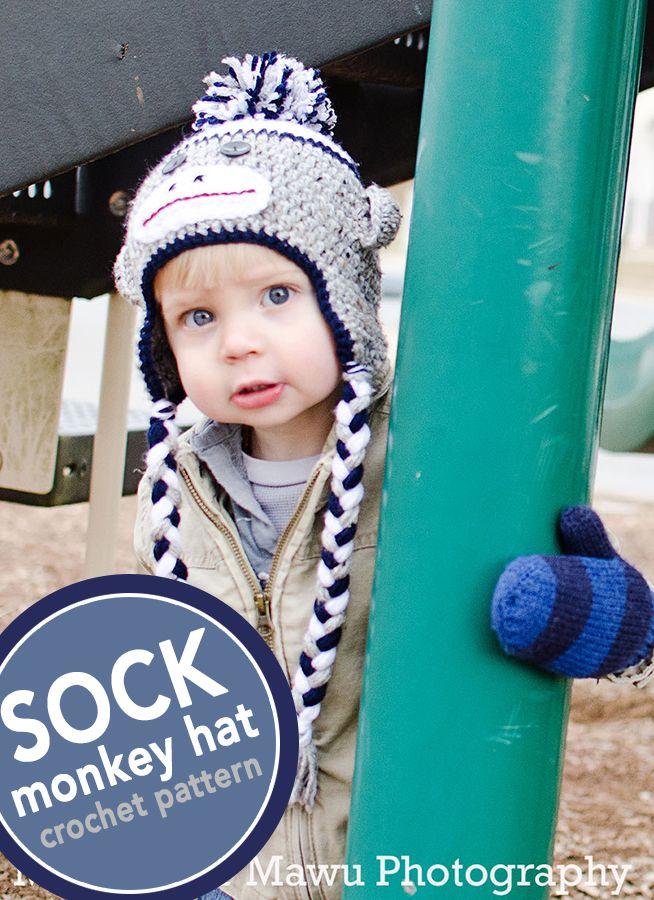 Luxury Free Crochet Monkey Hat Pattern Ideas - Blanket Knitting ...