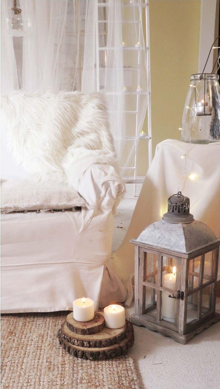 winter, bougies et lanternes location par mambilline déco
