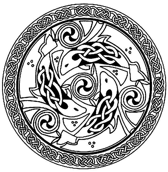Viking Kleurplaat Fran 231 Ois Planchu Ressources Celtiques Celtic Art