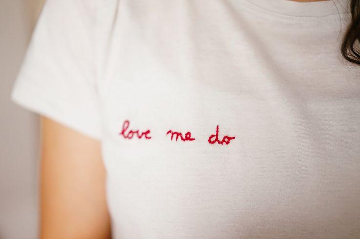 Tee-shirt brodé + conseil de réalisation