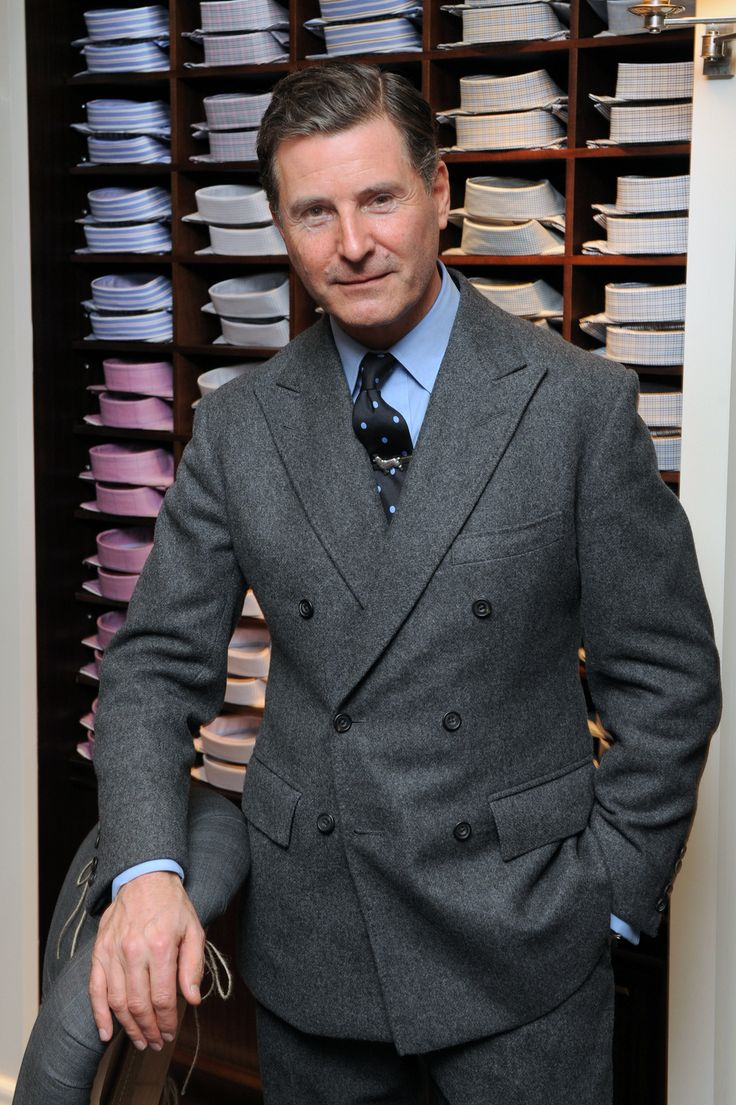 The DB Flannel Suit. As worn by Jeremy Hackett.