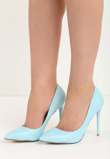 Pantofi stiletto Talia Turcoaz