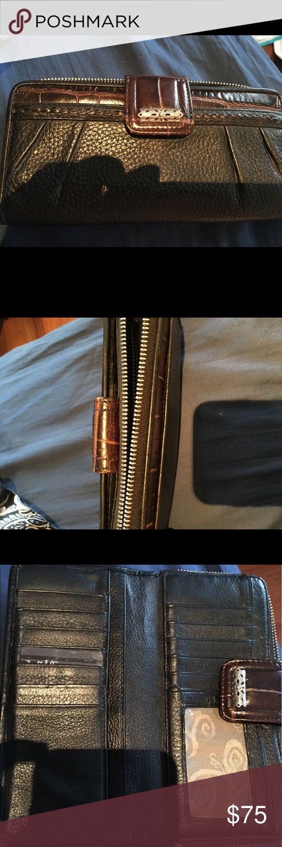 Large Brighton wallet EUC Brighton Bags Wallets