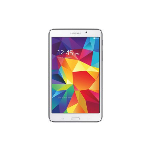 """Samsung Galaxy Tab 4 7"""" 8GB Android 4.4 Tablet With 1.2 GHz Quad-Core Processor - White 219.99"""