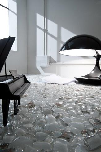 Andretto © Design - Palladiana Bianca - Murano glass