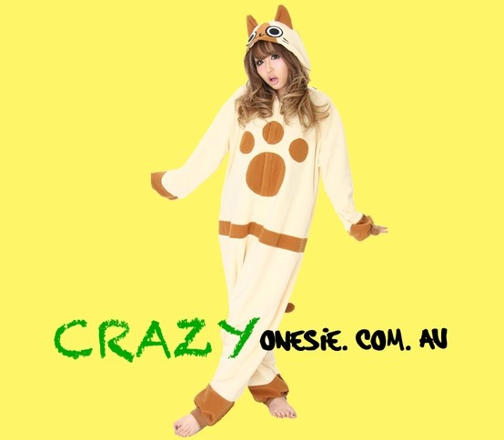 Brown Cat Onesie. 25% off EVERYTHING in store. Free Express Delivery Australia-wide. Visit www.crazyonesie.com.au for more details. Visit our Facebook page https://www.facebook.com/crazyonesie for exclusive competitions and discounts