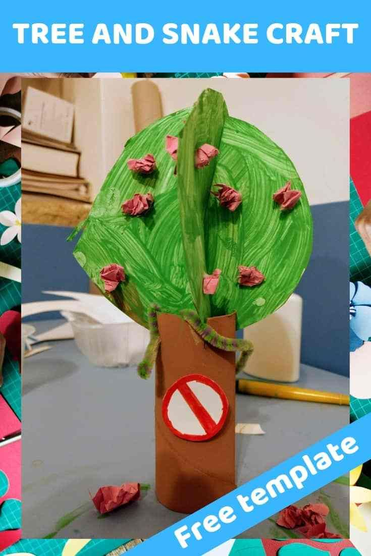 Easy 3d Tree Craft For Teaching Children About Adam Eve And The