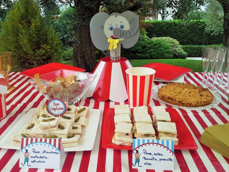 festa di compleanno tema circo - Lara's party - laraspartyeventi@gmail.com