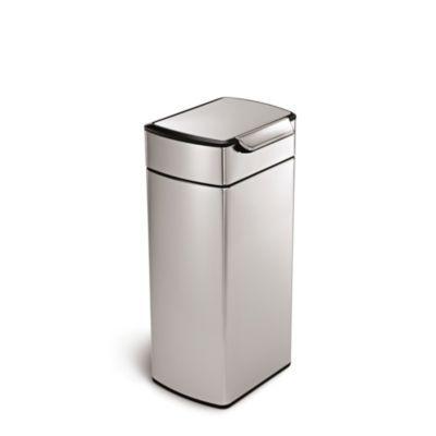 simplehuman 30 Litre Rectangular Touch Bar Bin in bins at Lakeland