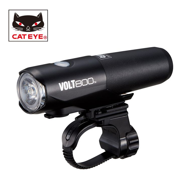CATEYE Bicycle Light VOLT 800 Lumens 5 Modes Bicycle Handlebar Front Lights Bike Safety Emergency Light Bicycle accessories