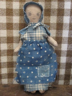 I really like their dolls. Fat Hen Farm - Primitive Rag Doll - Early Calico & Homespun