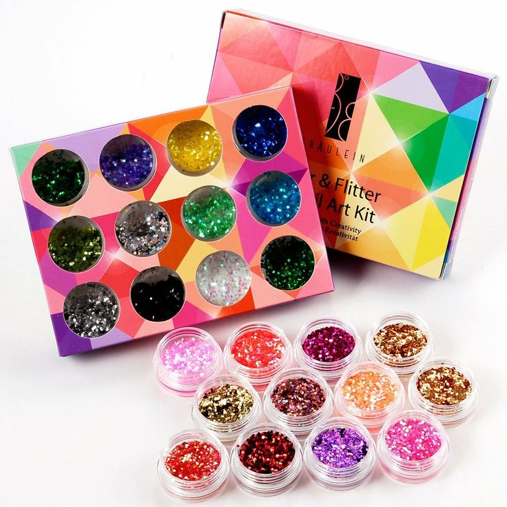 24Box Nail Art Decoration Glitter Paillette Dust Powder: Amazon.co.uk: Beauty   -   nail art decoration kit, nail glitter, nail art powder, nail dust Sprinkle some paillette on your nails to make your nails gorgeous and attractive! Suitable for nail art decoration with nail polish, UV builder gel, etc. Can add great sparkle to your makeup: face, body, and any great night out. Suitable for your party or fashionable look. - will let you know whether glitter or dust x x x