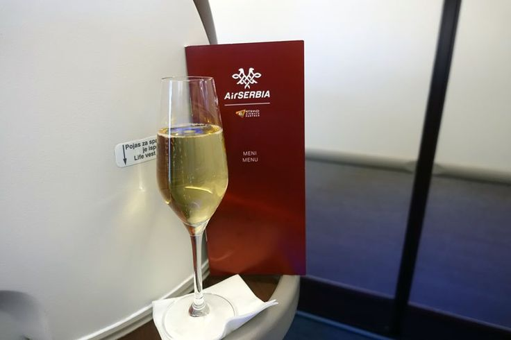 Here's an inside look at Air Serbia's business-class product on its recently launched nonstop flight between New York and Belgrade.