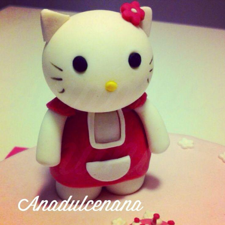 Kitty!! Siii nueva tarta
