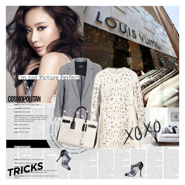 Kim Ah Joong by e-laysian on Polyvore featuring polyvore мода style Topshop Oscar de la Renta Yves Saint Laurent fashion clothing
