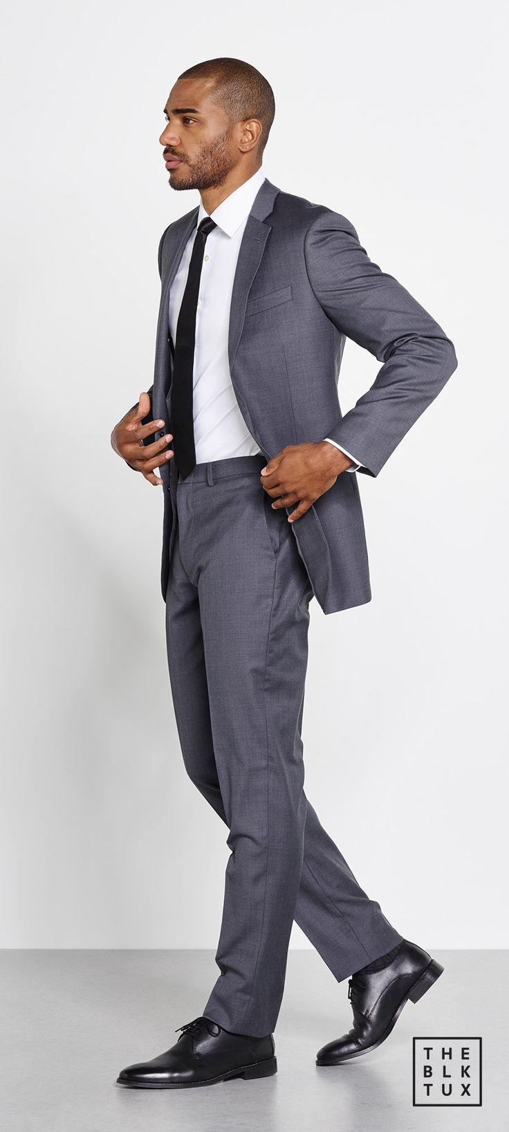 Suit Up in Style, The Black Tux Way 2017 online tuxedo rental service the grey suit groom groommen best man style -- #theblacktux #tuxedo #tuxedorental