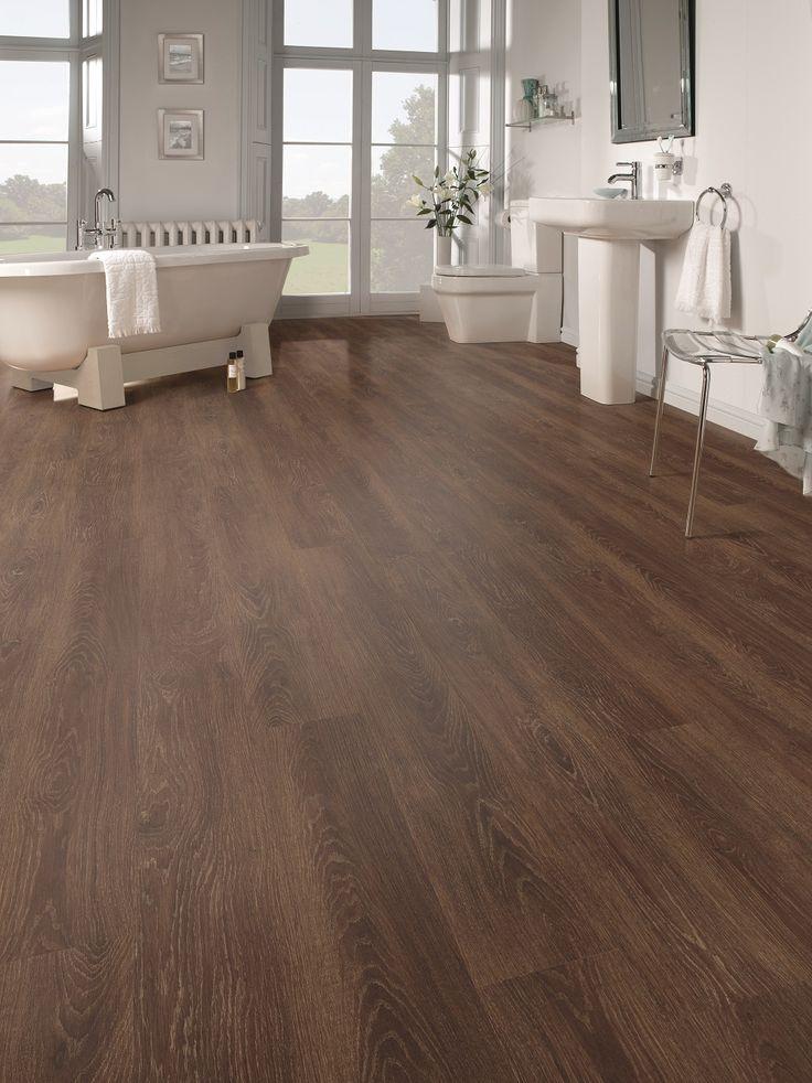 Karndean Flooring - Vetralla Bathroom