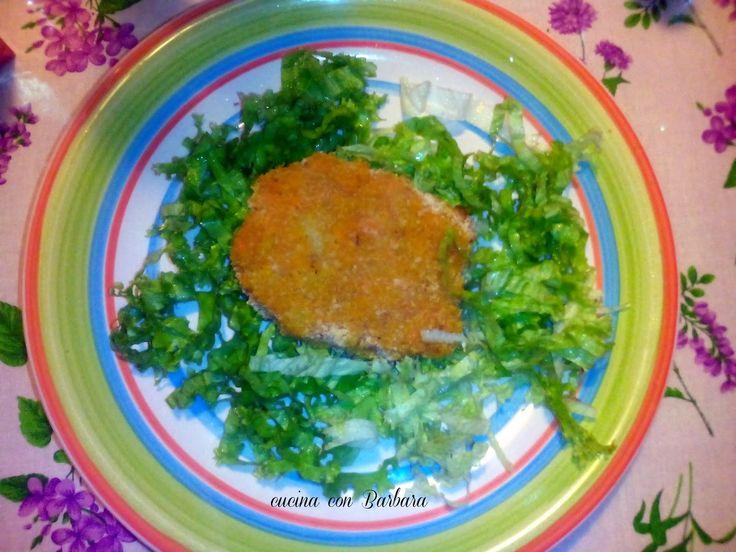 Cucina con Barbara: Cotoletta di zucca e patate