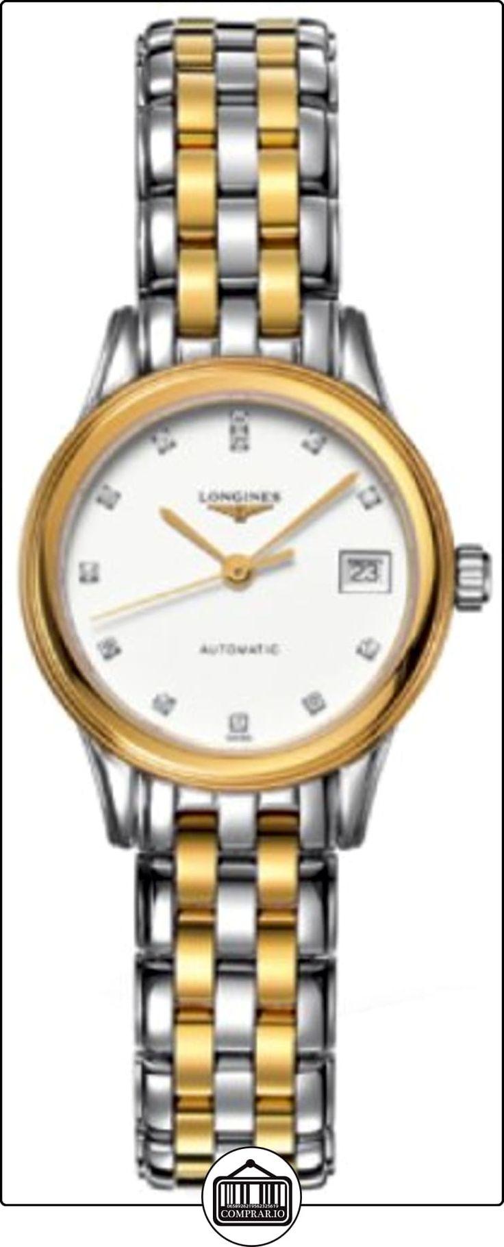 Longines Les Grandes Classiques buque insignia de las señoras reloj 42743277  ✿ Relojes para mujer - (Lujo) ✿