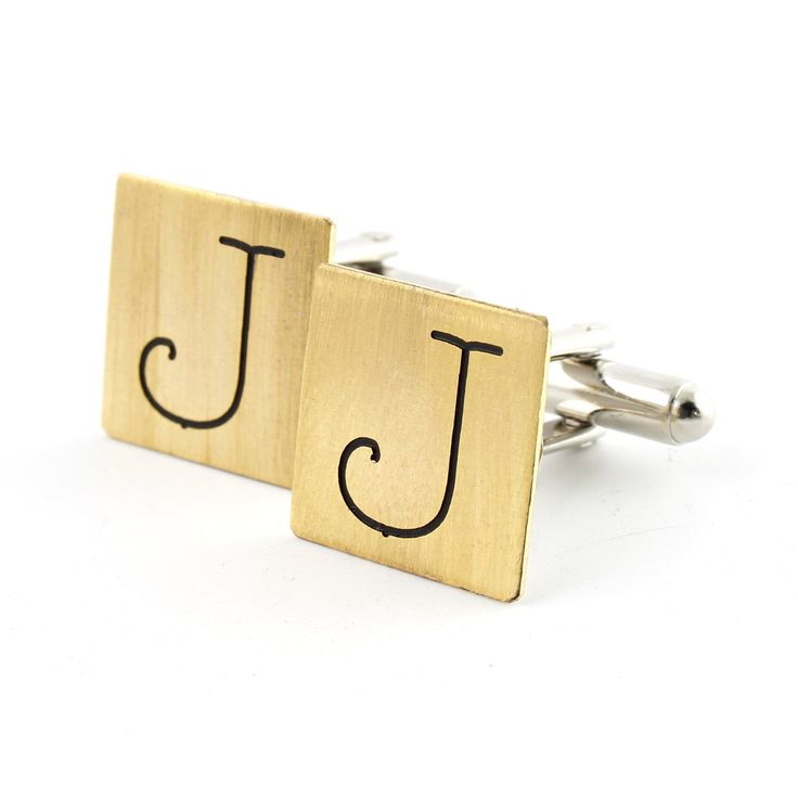 Typewriter Monogram Cufflinks