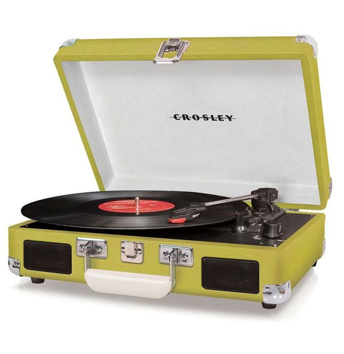 Catawiki online auction house: Crosley Cruiser Turntable Lime  + Exclusive Single Chuck Berry