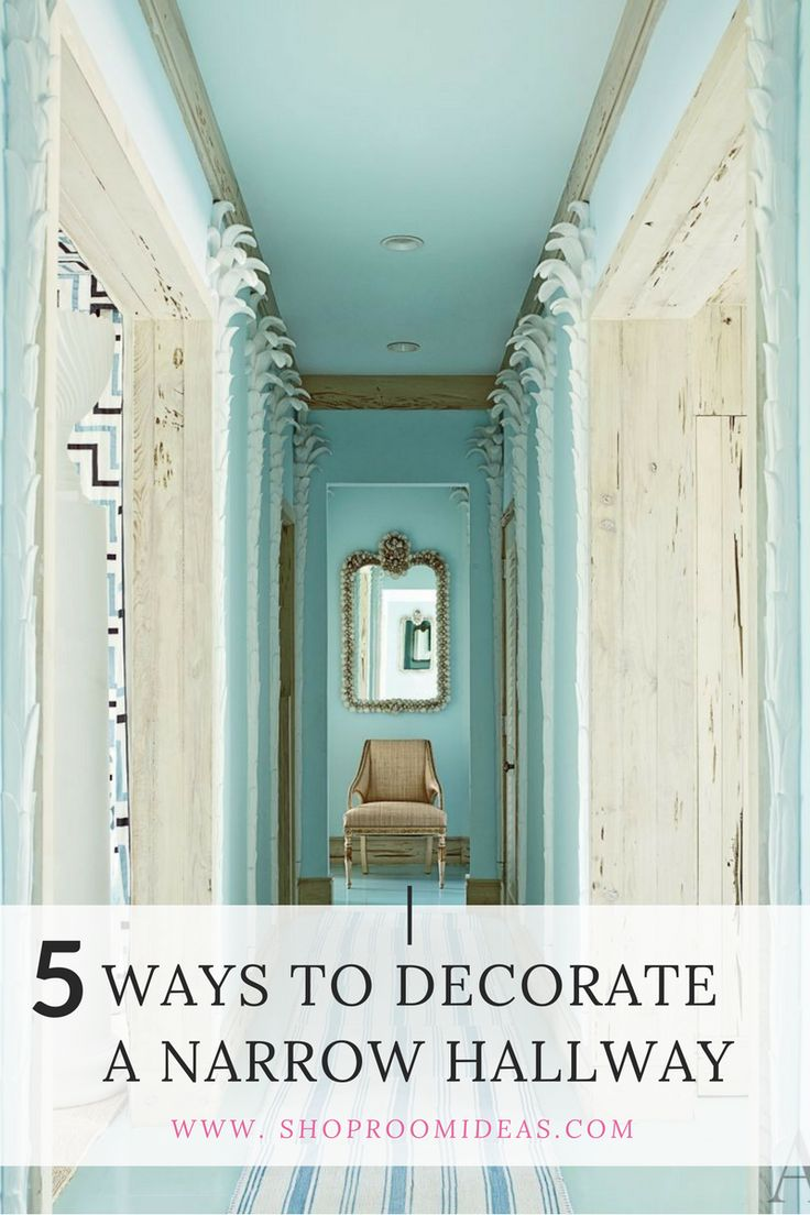 Best 25 narrow hallway decorating ideas on pinterest for Best way to decorate a small living room