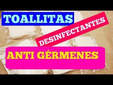 Toallitas jabonosas  desinfectantes anti bacterianas, manos siempre limpias - YouTube