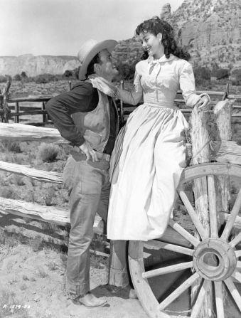 The Tattered Dress Gail   John Wayne , Gail Russell