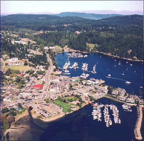 We're taking some friends to Ganges Harbour on Salt Spring Island, BC, this summer. There are three wineries within a few miles of the village that conduct tours and tastings. Can't wait!