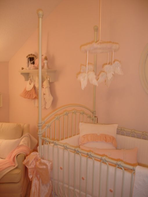 46 Best Images About Pink And Cream Nursery On Pinterest
