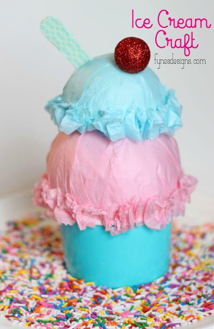 Ice Cream Sundae Craft