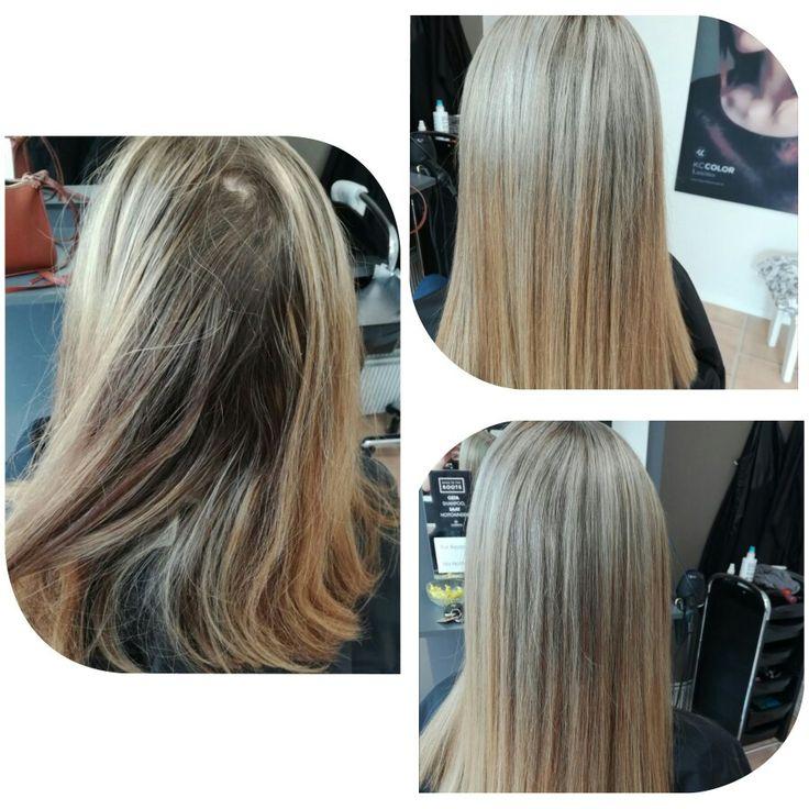 #raidat #highlights  #lightening #blond #longhair