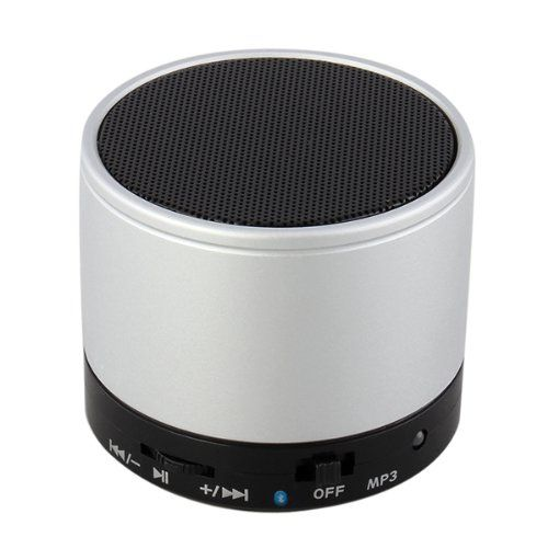JL-510T Argento Bluetooth Cassa Altoparlante Speaker Stereo 10mt TF x MP3 MP4 PC: Amazon.it: Elettronica