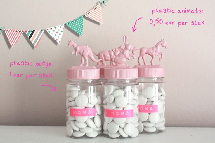 Pastel animals... DIY? Love the name as well.
