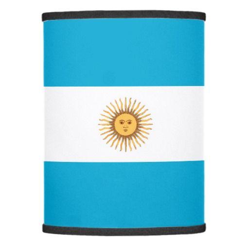 Argentina flag lamp shade