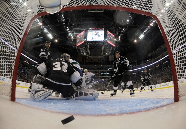 Matt Greene Photo - Vancouver Canucks v Los Angeles Kings - Game Four