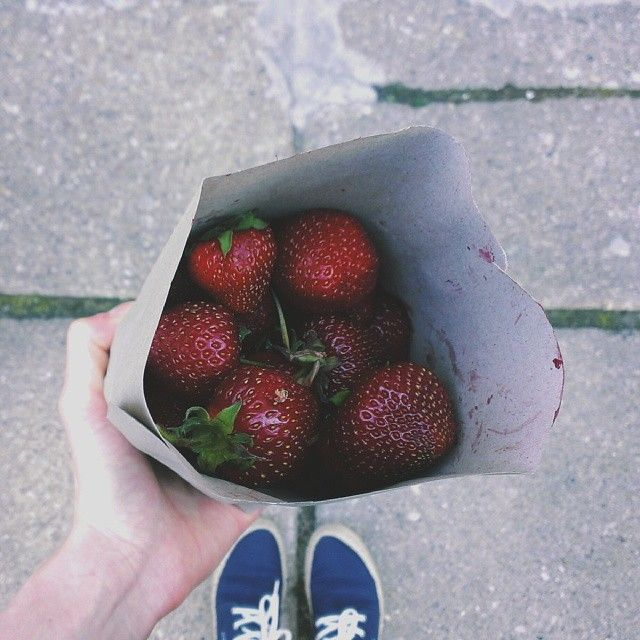 truskawkowe szaleństwo #vscocam #vsco #strawberries #summer