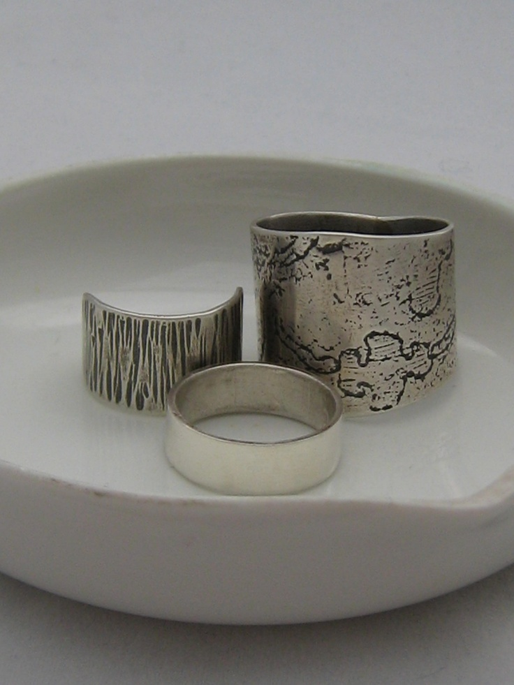 A few of our sterling silver rings