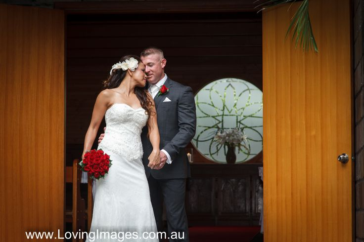 Haydee & Brett married at the Chapel with an elopement package from LovingImages.com.au