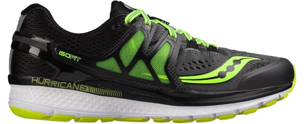 Saucony Men's Hurricane ISO 3 Wide Road-Running Shoes