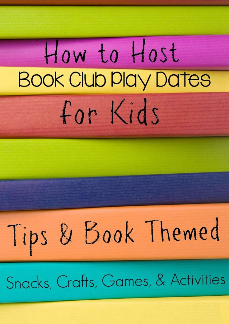 How to Plan and Host a Book Club Play Date for Kids from Still Playing School