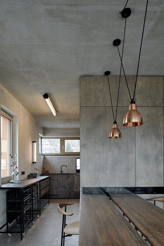 loft rotterdam industrial rock pendant lighting. An Industrial Loft In Prague - Design Milk Hřebenky Designed By Formafatal Rotterdam Rock Pendant Lighting N