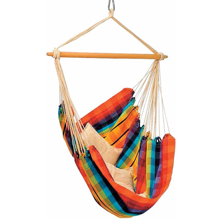 Brazilian Hammock Chair: Rainbow: Byer of Maine