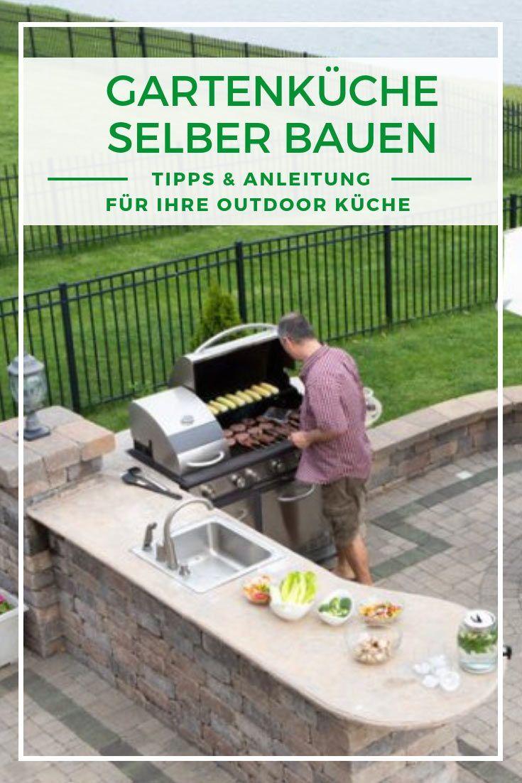 Gartenküche selber bauen – Tipps & Anleitung   – Klaus Birkholz