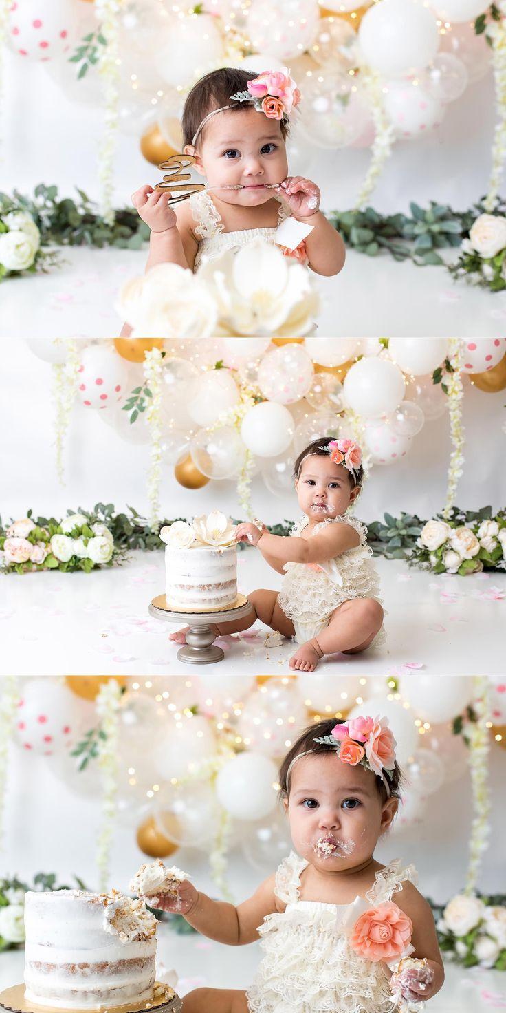 Cake smash photography by heather elizabeth studios in