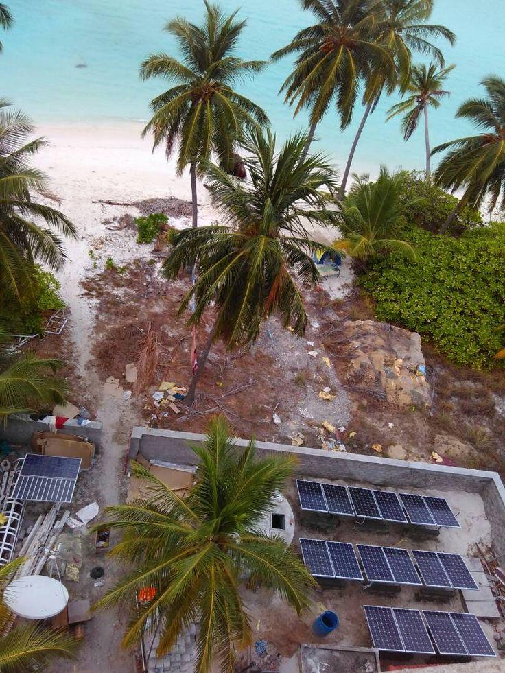 4kw off grid Solar power plant